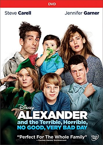 Alexander and the Terrible, Horrible, No Good, Very Bad Day DVD - 10224928