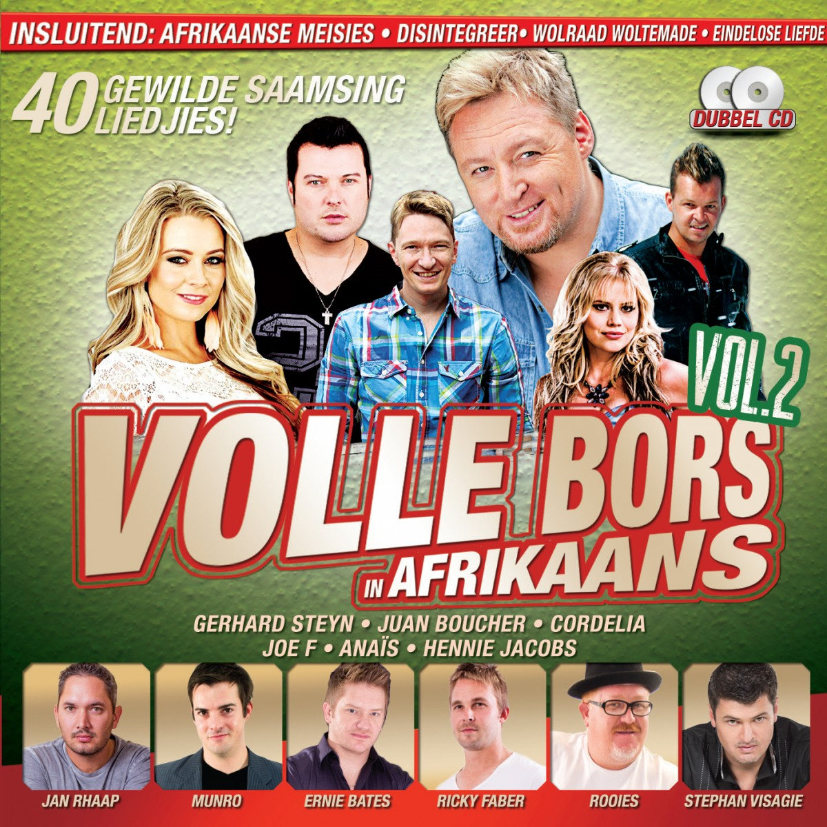 Volle Bors In Afrikaans Vol.2 CD - VONK310