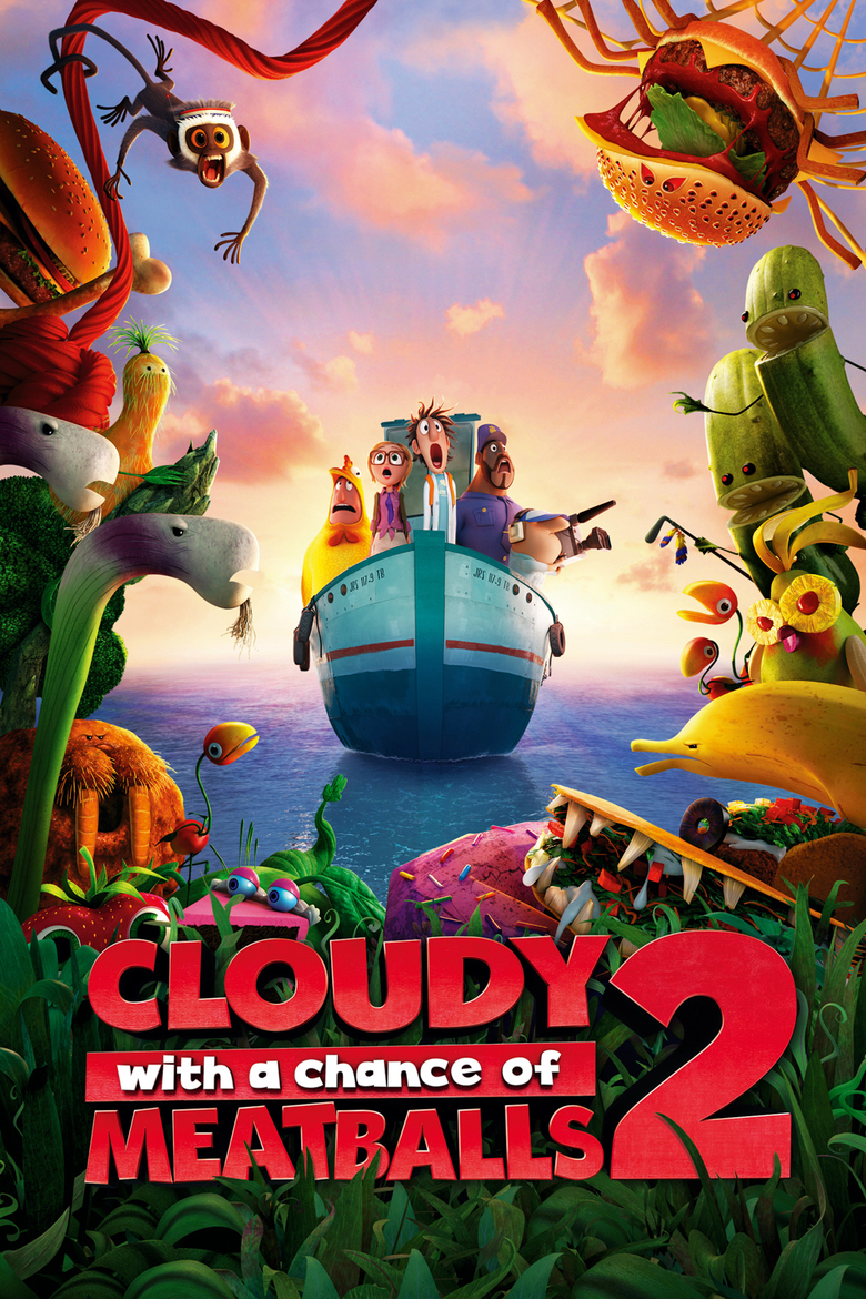 Cloudy with a Chance of Meatballs 2 (Big Faces Range) DVD - 10225825