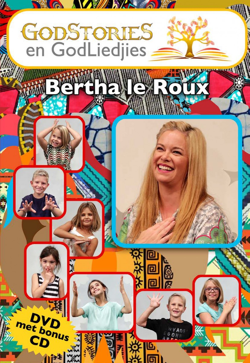 Bertha Le Roux - Godstories & God Liedjies DVD+CD - LBMD105