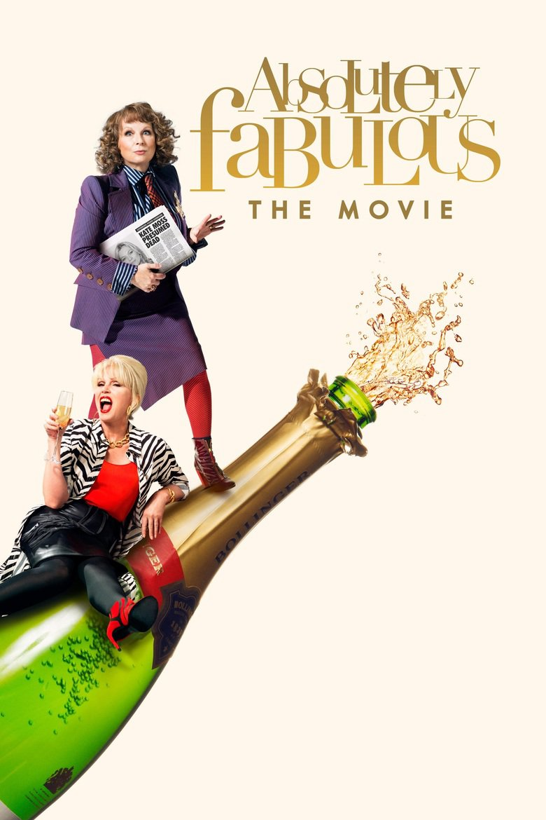Absolutely Fabulous: The Movie DVD - 69642 DVDF