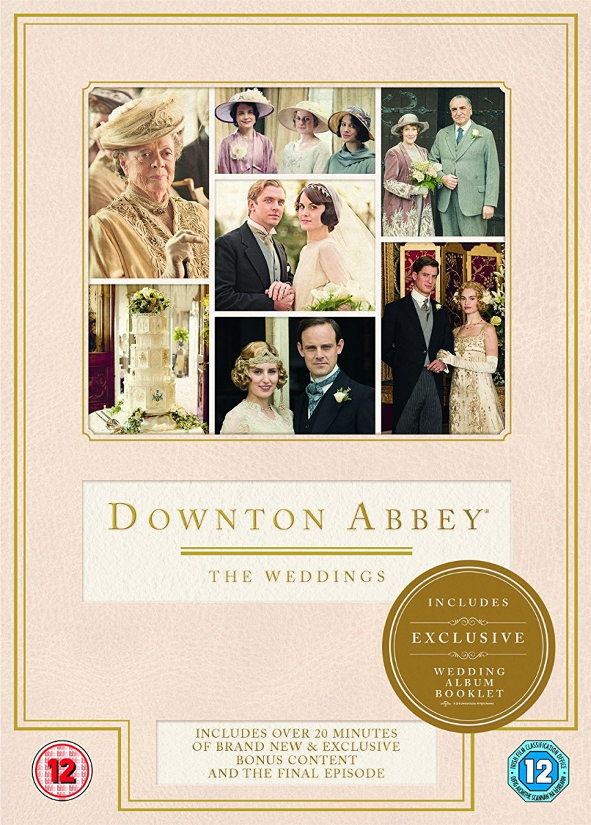 Downton Abbey: The Weddings DVD - 105440 DVDU