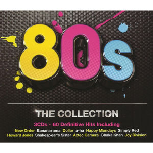 80s The Collection CD - CDESP 392