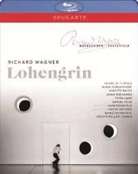 Bayreuth Festival Orchestra & Chorus , Andris Nelsons - Richard Wagner - Lohengrin Blu-Ray - OABD7103D