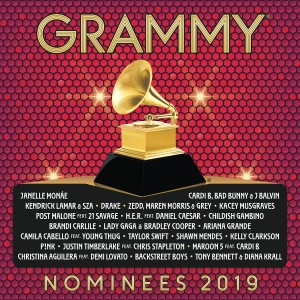 2019 GRAMMY® Nominees CD - 06025 7727555
