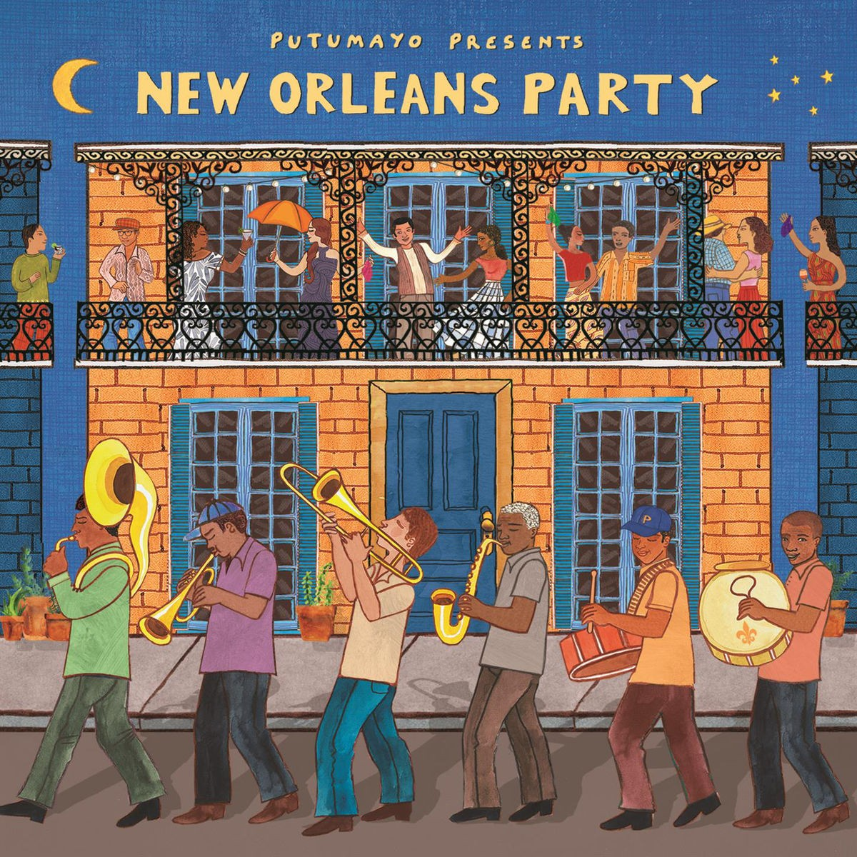 Putumayo Presents New Orleans Party CD - PUT371