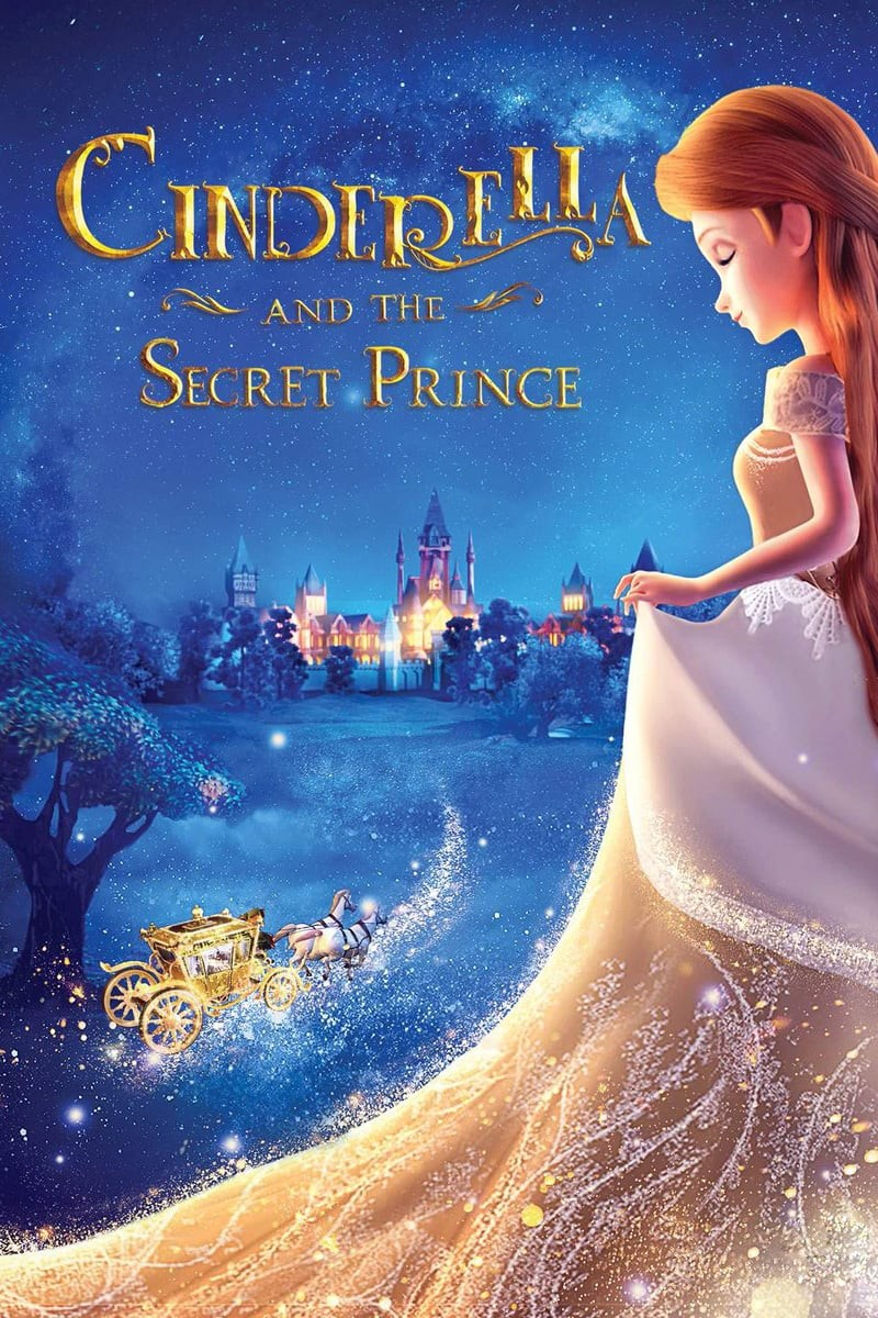 Cinderella and the Secret Prince DVD - 10229447