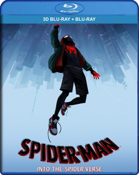 Spider-Man: Into the Spider-Verse 3D Blu-Ray+Blu-Ray - 10229559