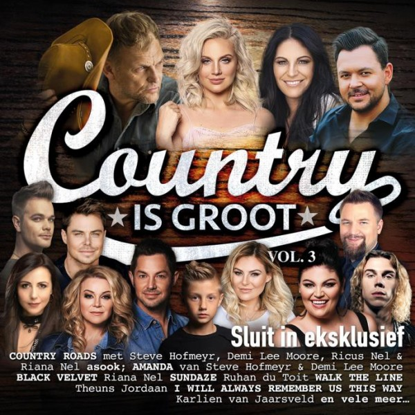 Country Is Groot Vol. 3 CD - CDJUKE 220