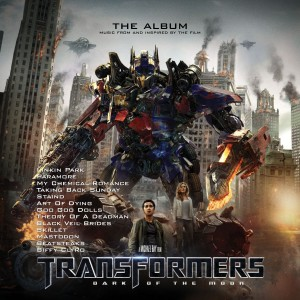 Transformers: Dark of the Moon - The Album (Music From and Inspired By The Film) VINYL - 0093624903901