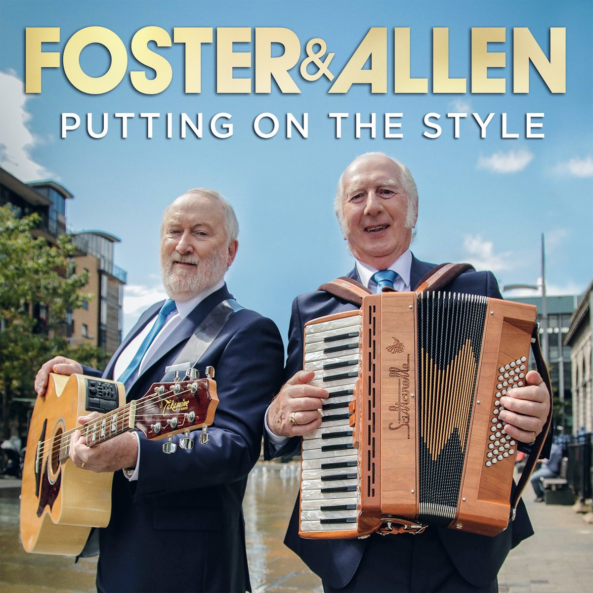 Foster & Allen - Putting On The Style CD+DVD - DGR1986