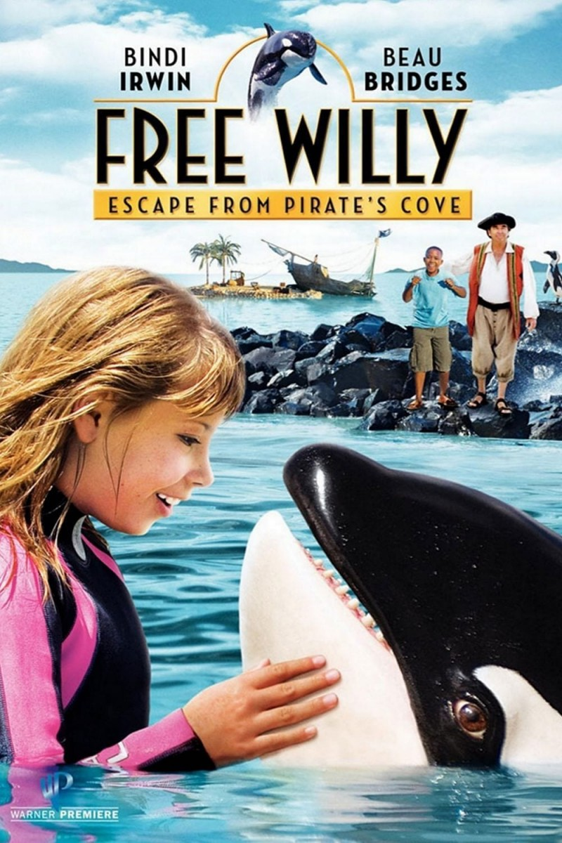 Free Willy 4: Escape from Pirate's Cove DVD - Y25982 DVDW