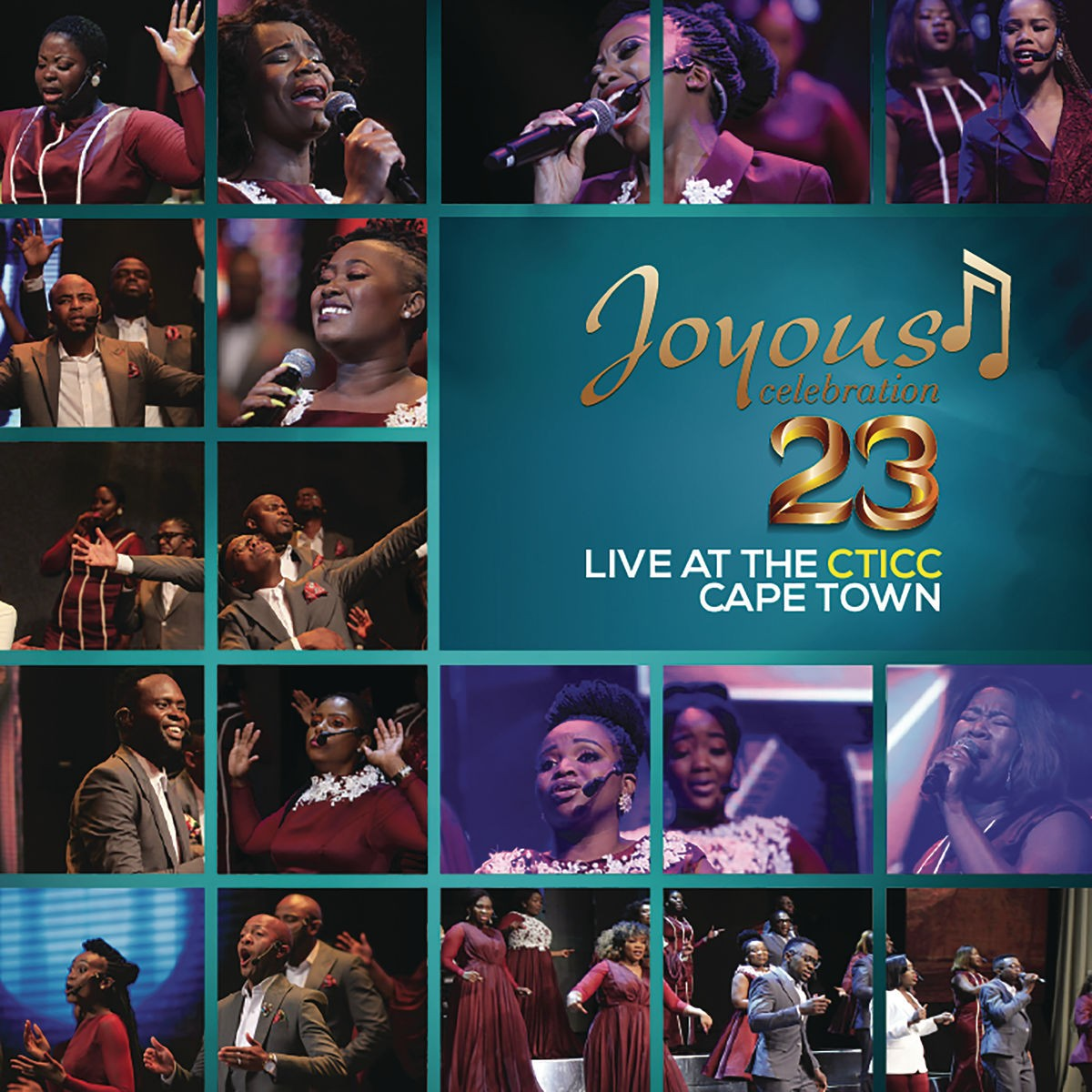 Joyous Celebration - 23 - Live At The CTICC Cape Town CD - CDPAR5115