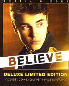Justin Bieber - Believe (Deluxe Limited Edition) CD - 06025 3707068