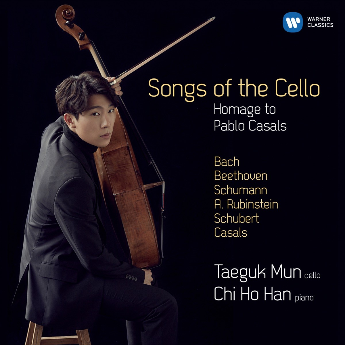 Taeguk Mun & Chi Ho Han - Songs of the Cello CD - 9029563313