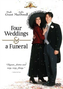 Four Weddings and a Funeral DVD - 20731 DVDF