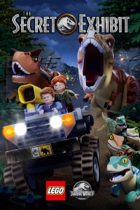 LEGO Jurassic World: The Secret Exhibit (Part 1 & 2) DVD - 108948 DVDU
