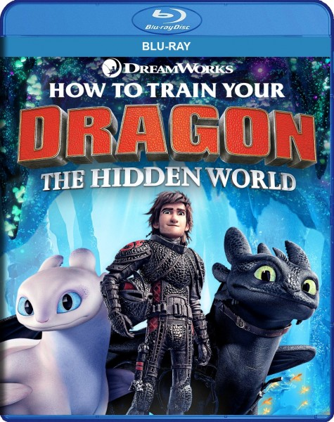 How to Train Your Dragon: The Hidden World Blu-Ray - BDU 635870