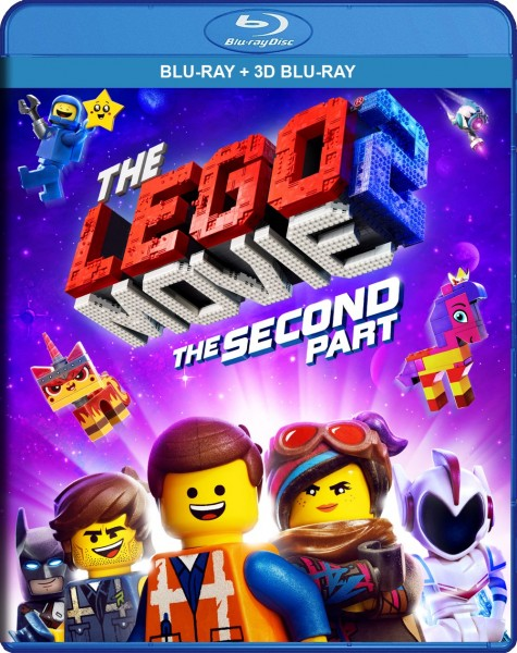 The Lego Movie 2: The Second Part Blu-Ray+3D Blu-Ray - Y35113 BDW