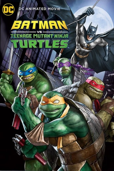 Batman vs. Teenage Mutant Ninja Turtles DVD - Y35080 DVDW