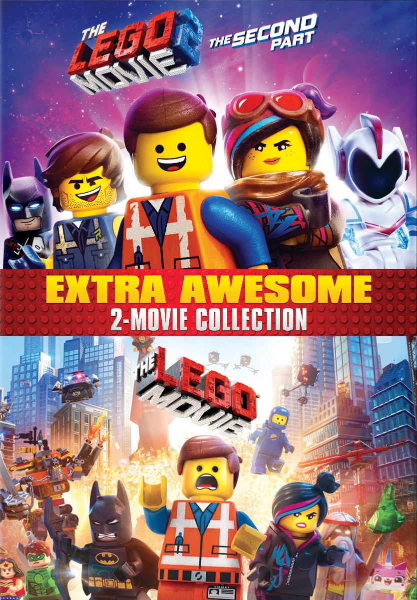 The Lego Movie Collection DVD - Y35230 DVDW