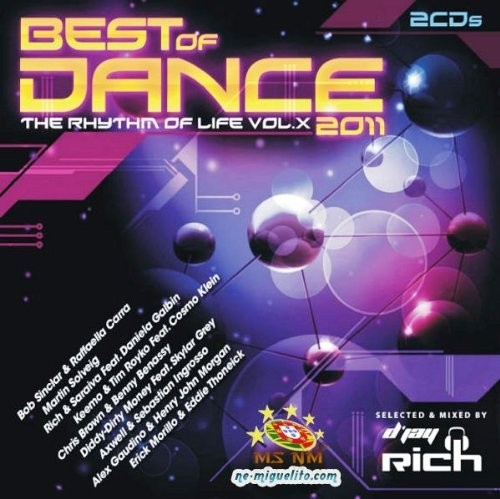 Best Of Dance 2011: The Rhythm Of Life Vol. X CD - 11.80.9264