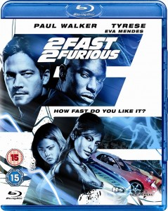 The Fast And The Furious 2: 2 Fast 2 Furious Blu-Ray - BDU 38436