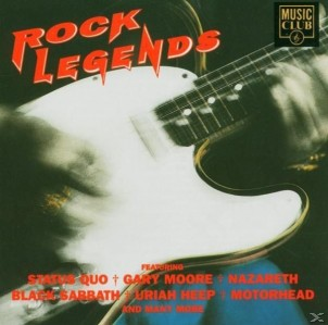 Rock Legends CD - MCCD045