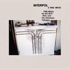 Interpol - A Fine Mess VINYL - OLE14311