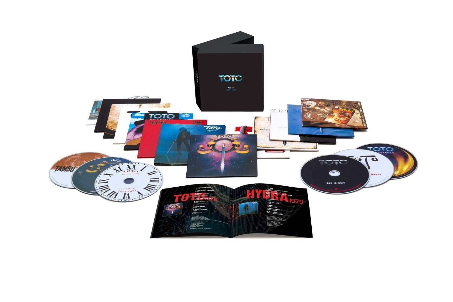 Toto - All In CD - 19075820452