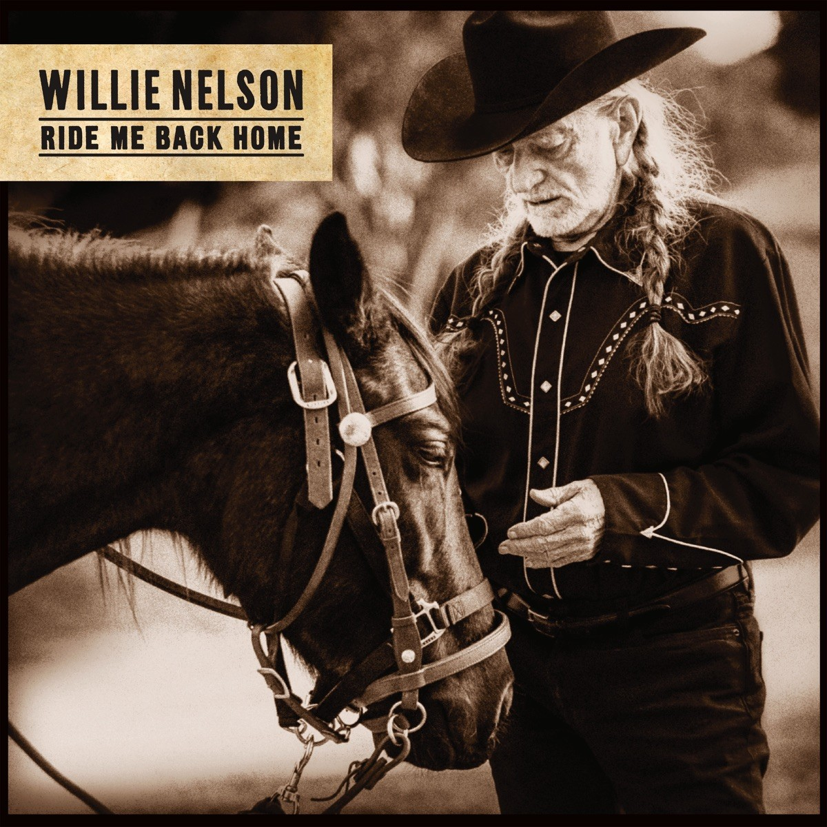 Willie Nelson - Ride Me Back Home CD - 19075935622