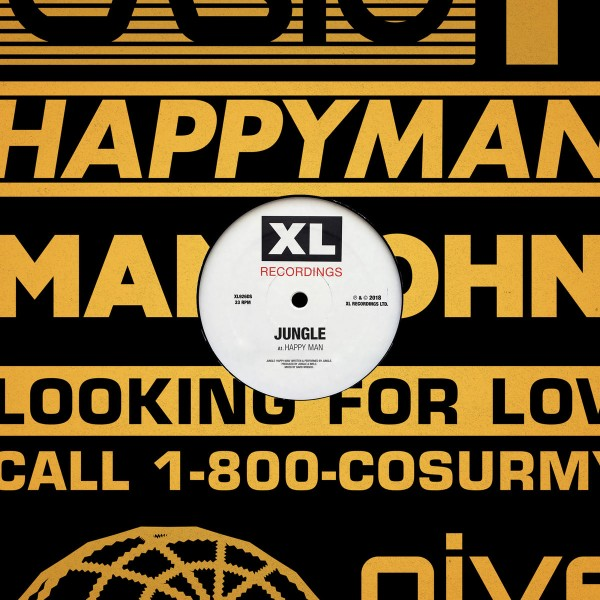Jungle - Happy Man - Single VINYL - XL926T