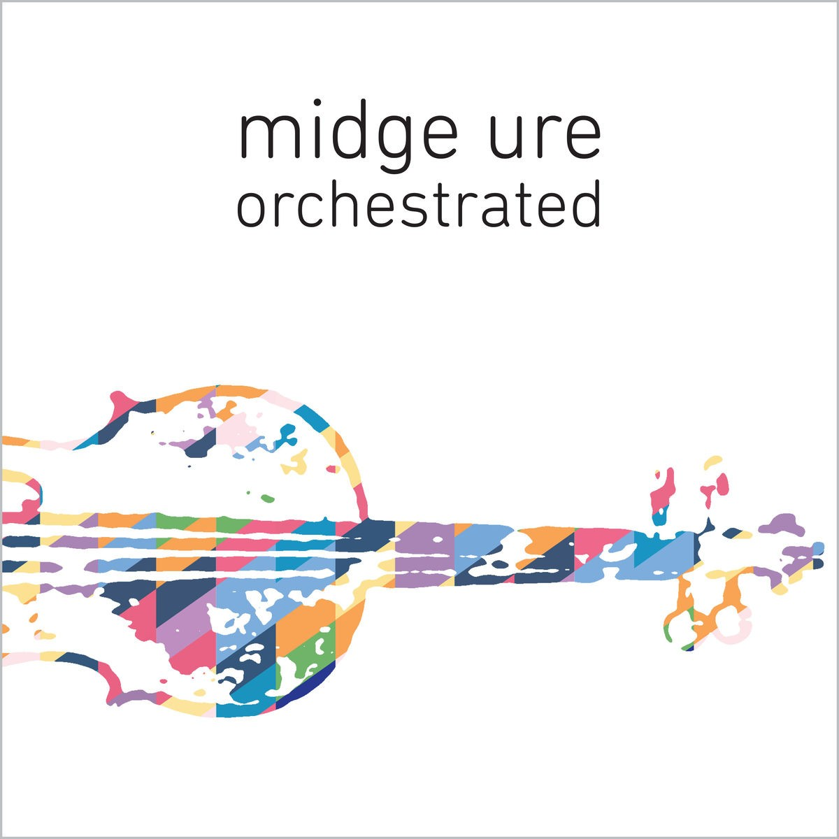 Midge Ure - Orchestrated CD - 5053834441