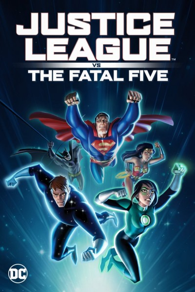 Justice League vs. the Fatal Five DVD - Y35087 DVDW