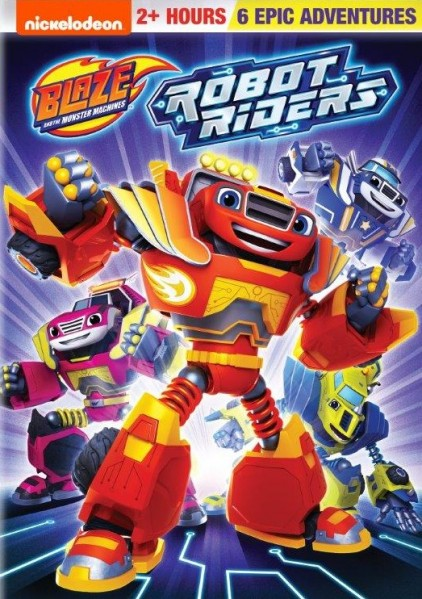 Blaze and the Monster Machines: Robot Riders DVD - EU148974 DVDP