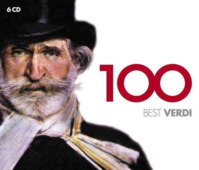 100 Best Verdi CD - 9029548466