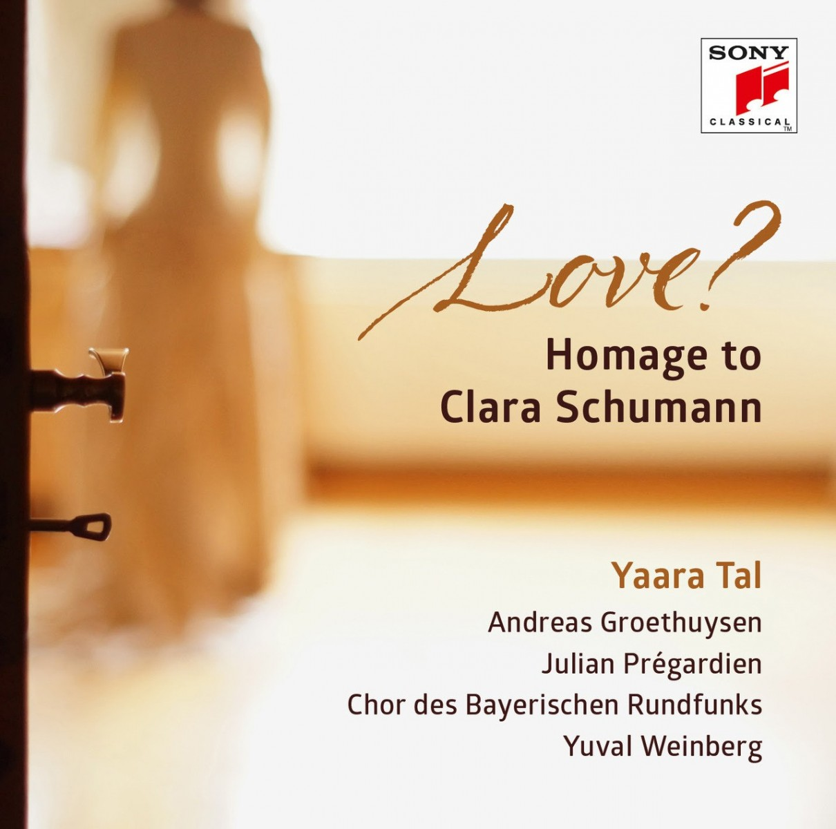 Yaara Tal - Love? Homage To Clara Shumann CD - 19075963082