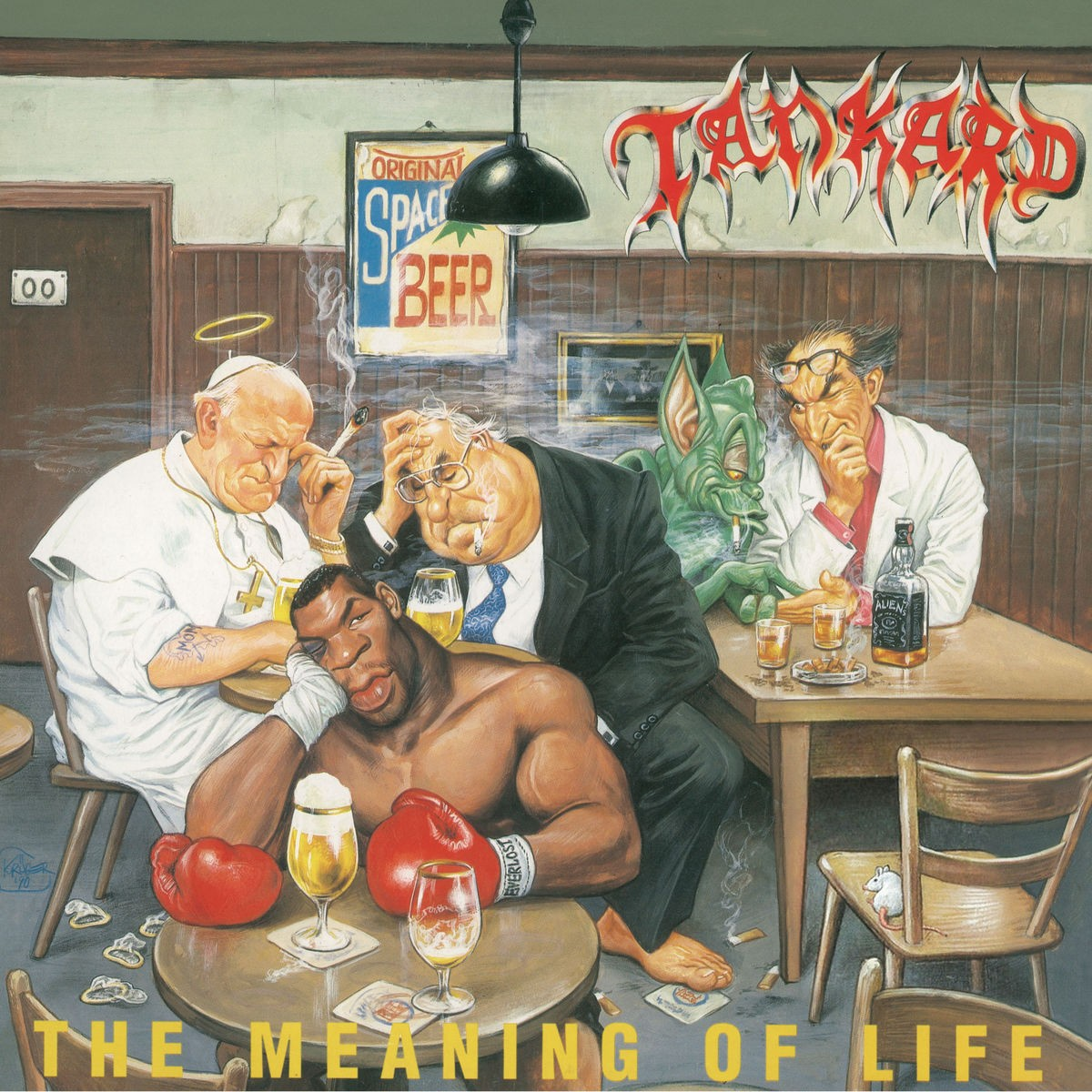 Tankard - The Meaning of Life (2018 - Remaster) VINYL - 5053826991