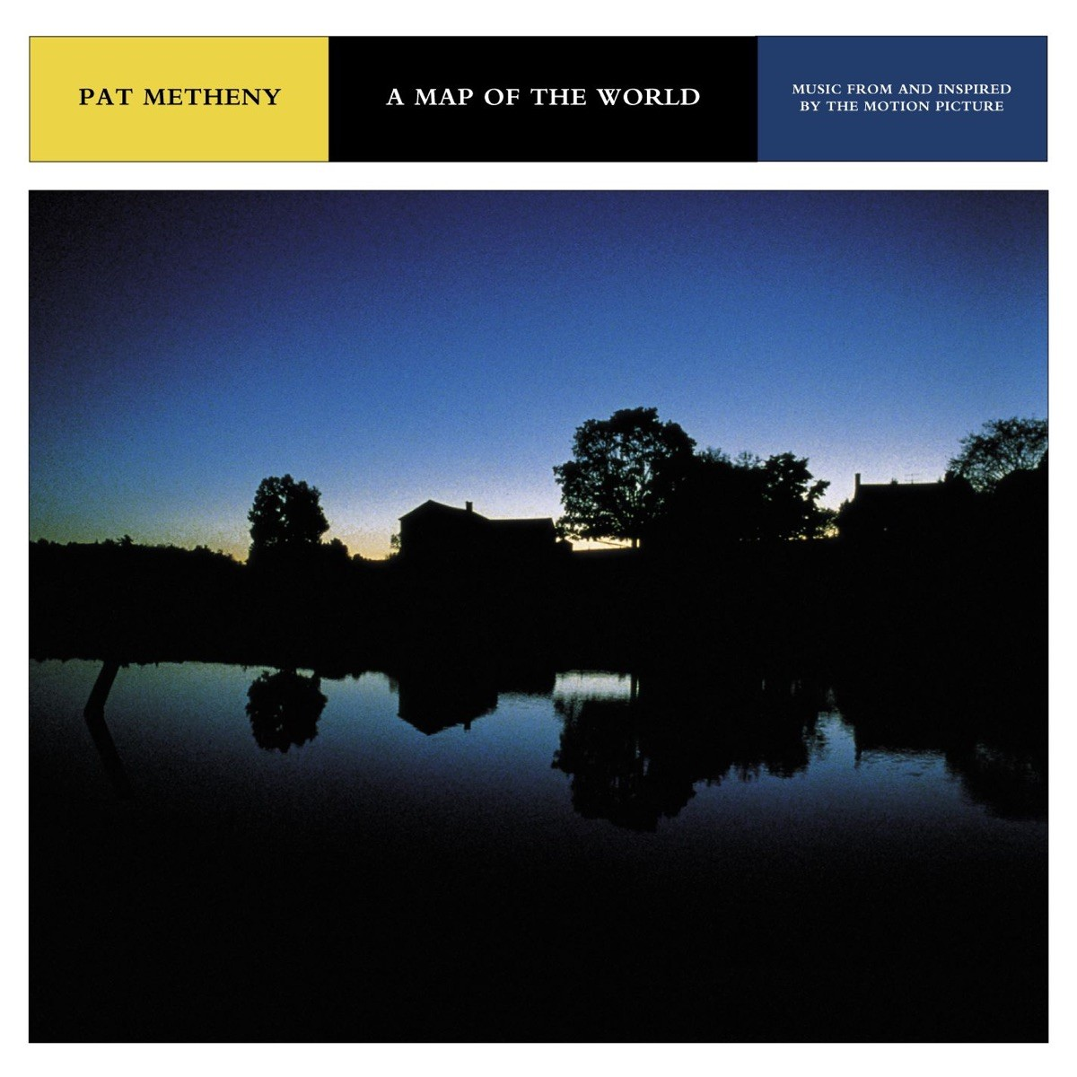 Pat Metheny - A Map of the World (Music From and Inspired By the Motion Picture) CD - 9362473662