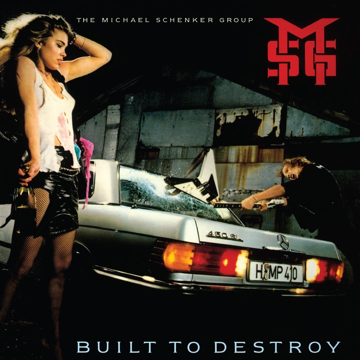 The Michael Schenker Group - Built to Destroy (Picture Disc) VINYL - 506051609107