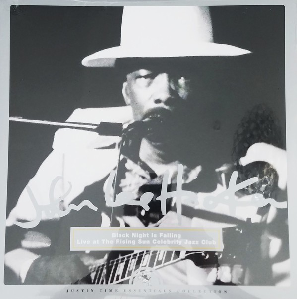 John Lee Hooker - Black Night Is Falling: Live At The Rising Sun Celebrity Jazz Club VINYL - 6894491521