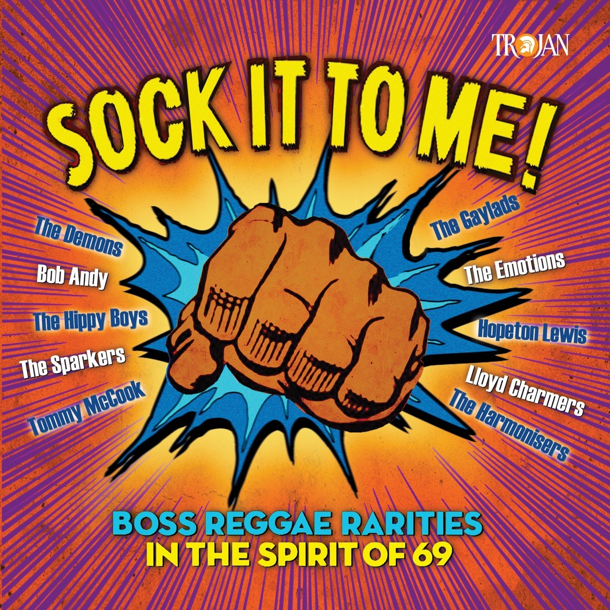 Sock It to Me: Boss Reggae Rarities in the Spirit Of '69 VINYL - 5053849008