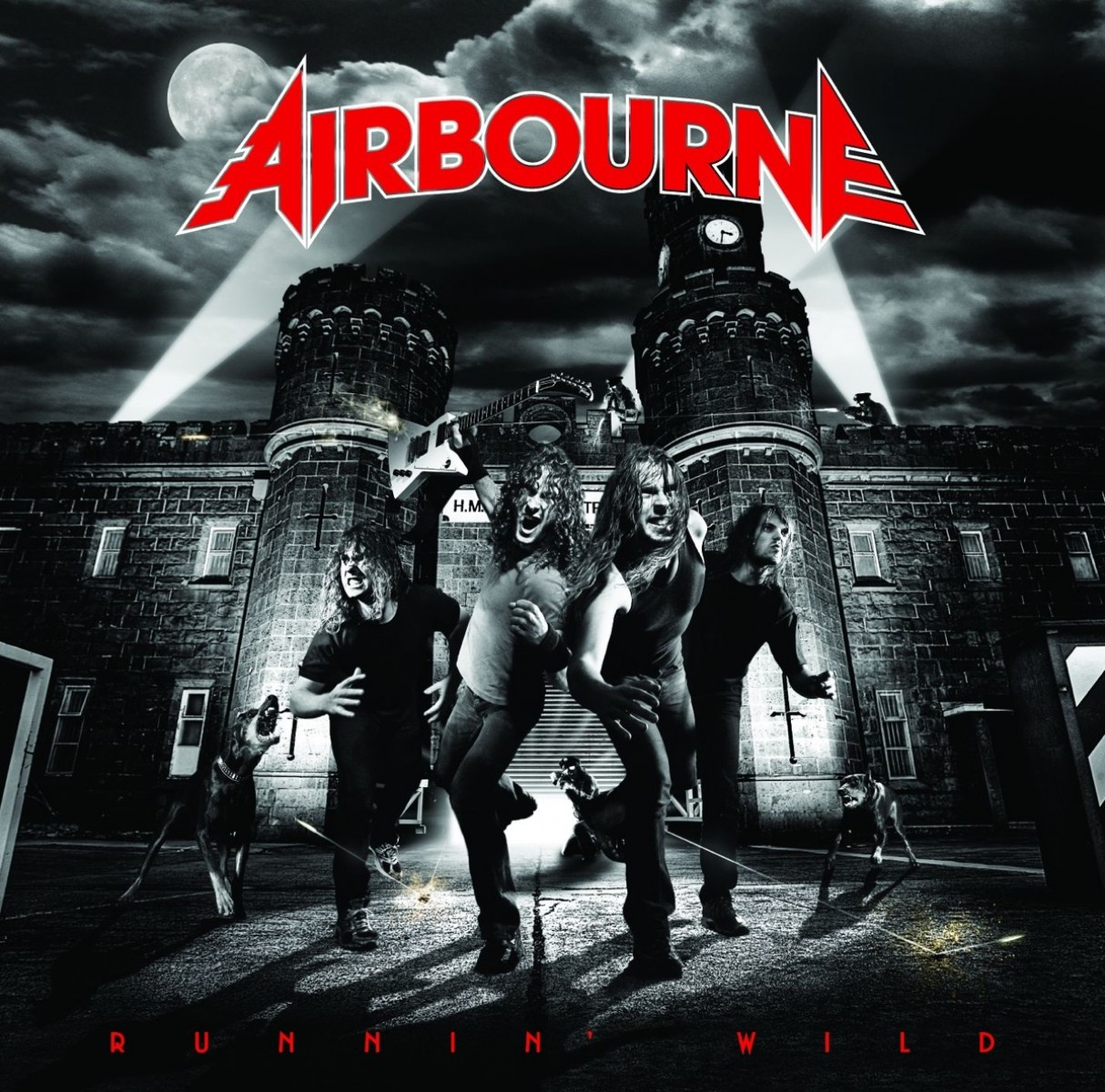 Airbourne - Runnin' Wild VINYL - 6700310571