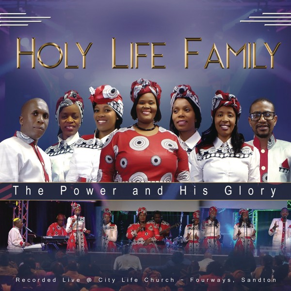 Holy Life Family  - The Power and His Glory (Live) CD - CDHLM70