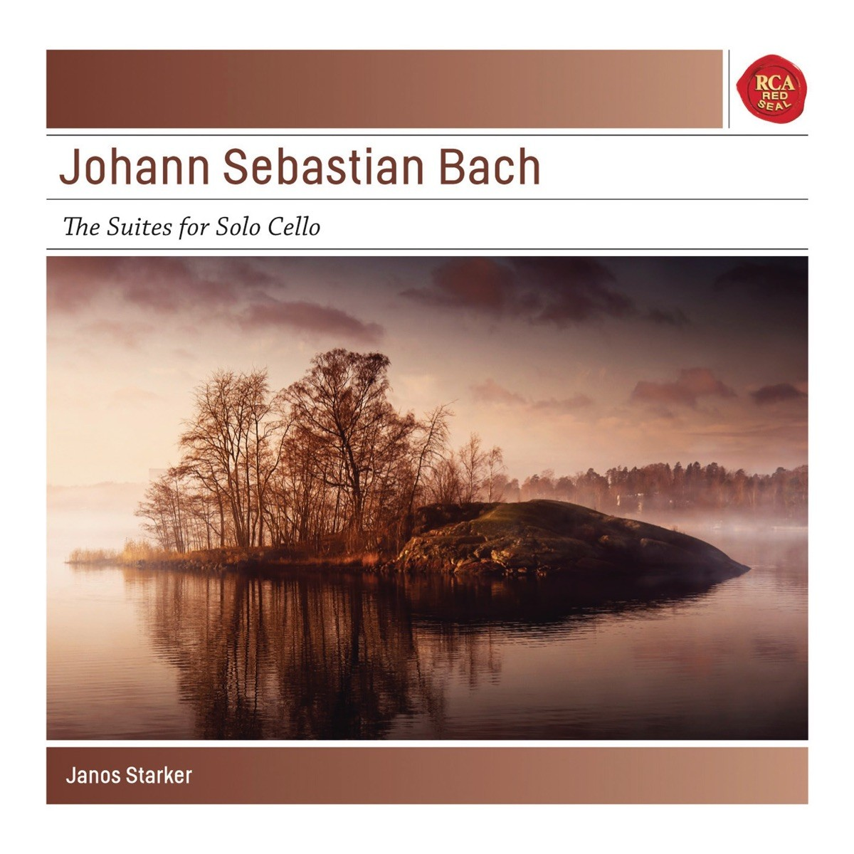 Janos Starker - Bach: 6 Cello Suites BWV 1007-1012 CD - 88697703262