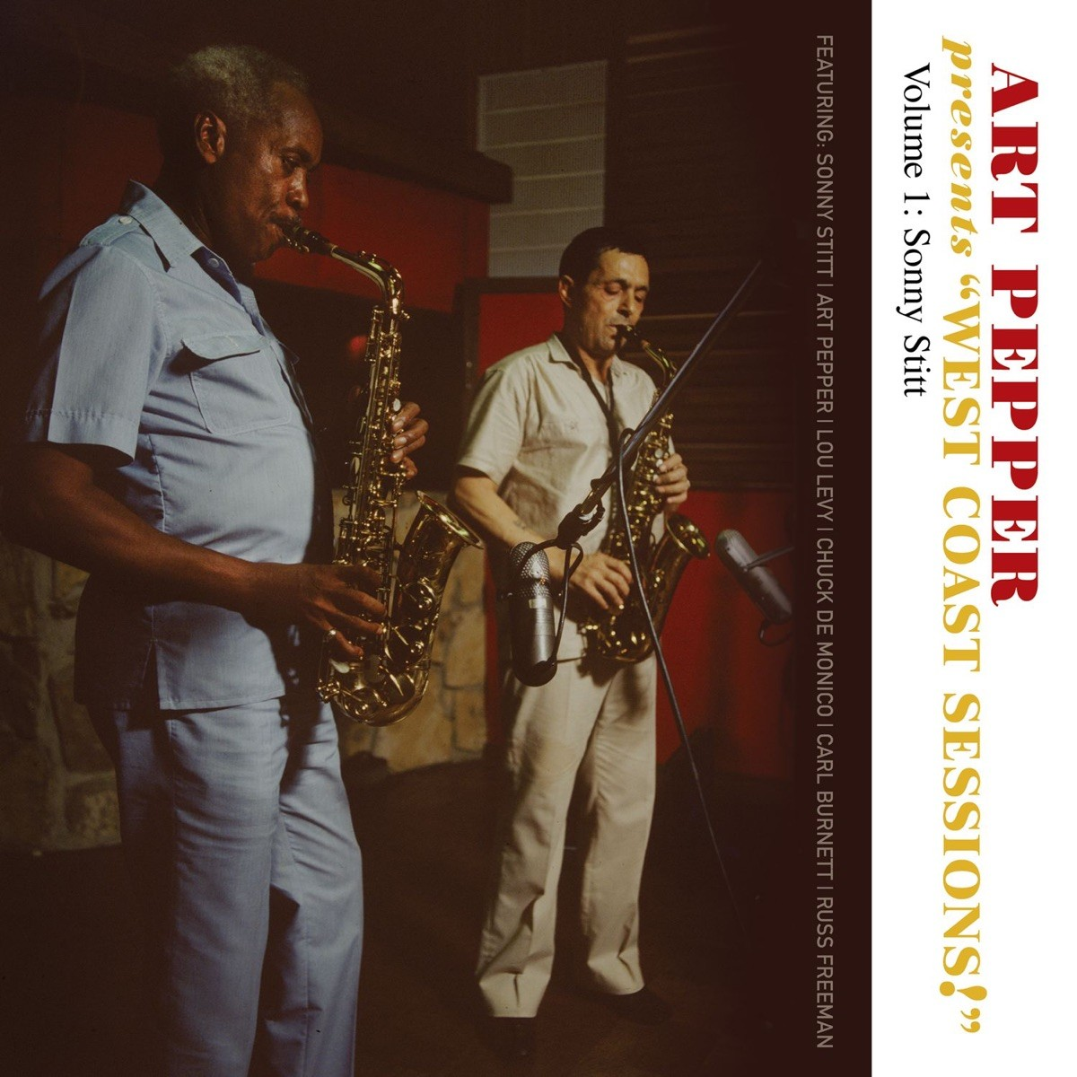"Art Pepper - Presents ""West Coast Sessions!"" Volume 1 CD - OVCD207"