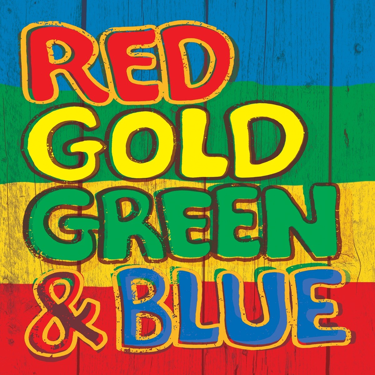 Red Gold Green & Blue CD - 5053847292
