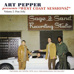 """Art Pepper Feat. Pete Jolly - Presents """"West Coast Sessions!"""", Vol. 2 CD - OVCD208"""