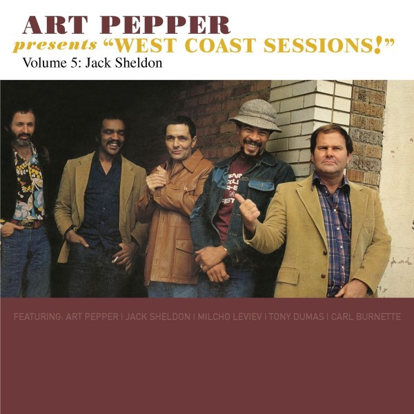 "Art Pepper Feat. Jack Sheldon - Presents ""West Coast Sessions!"", Vol. 5 CD - OVCD236"
