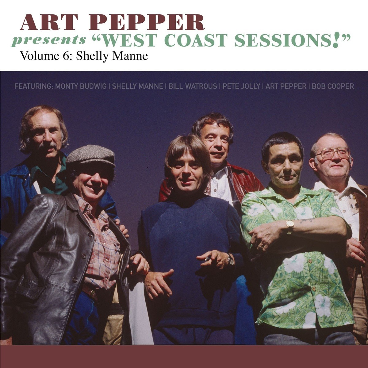 """Art Pepper Feat. Shelly Manne - Presents """"West Coast Sessions!"""" Volume 6 CD - OVCD237"""
